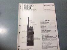 Kenwood TH-235A/E/TH234 Manual De Servicio