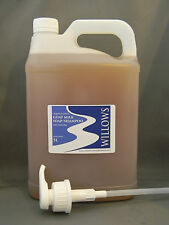 LIQUID CASTILE GOATS MILK SOAP/SHAMPOO 100% NATURAL UNSCENTED 5 L/PUMP INCL P&H