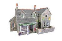 Metcalfe PO254 Village Shop & Cafe.(00 Gauge) Railway Model Kit