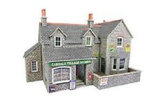 Metcalfe PO254 Village Shop & Cafe.(00 Gauge) Railway Model Kit