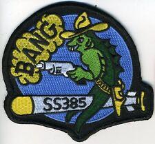"""USS Bang SS 385 - Fish shooting gun """"bang"""" BC Patch Cat No C5523"""