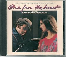 CD BOF / OST 12 TITRES--ONE FROM THE HEART--TOM WAITS & CRYSTAL GAYLE