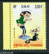 FRANCE 2001, timbre 3370a, LAGAFFE, BD, FETE TIMBRE, neuf**, COMICS, MNH STAMP