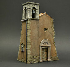DIO72 Italian church ruin 1:72 scale resin military diorama model kit building