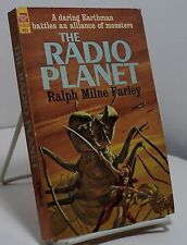 The Radio Planet by Ralph Milne Farley -  Ace F-312 - First edition
