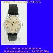 Vintage Rolex Tudor Mint Steel Gents Wrist Watch 1954