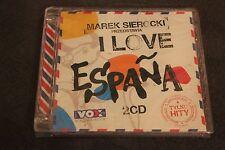 Marek Sierocki Przedstawia - I Love Espana 2CD POLISH RELEASE - NEW SEALED