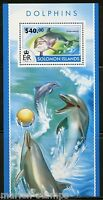 SOLOMON ISLANDS 2015 DOLPHINS  SOUVENIR SHEET   MINT NH