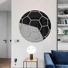 Football Wall Stickers Decor Mirror Sticker Diy Home Decor Gym Sports Ball Game&