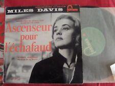 JAZZ MILES DAVIS SOUNDTRACK ASCENSEUR POUR L'ECHAFAUD ORIGINAL 1957