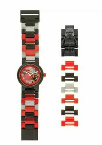 LEGO STAR WARS KYLO REN BUILDABLE WATCH BLACK/RED BRAND NEW IN BOX