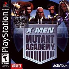 X-Men Mutant Academy - PS1 PS2 Complete Playstation Game