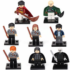Harry Potter Hermione Malfoy Ron Snape 8 Mini figures Building Bricks Toys