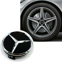 75mm Nabendeckel Nabenkappen Felgendeckel Emblem für Mercedes Benz, 4 Stück