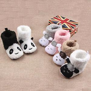 Crib Pram Shoes Winter Baby Girl Boy 0-18M Newborn Warm Snow Booties Cute Boots
