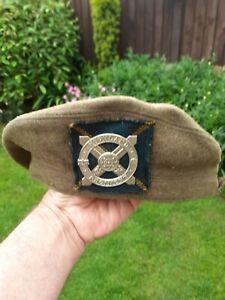 Scottish Highland Regiment Tam o Shanter & Cap Badge