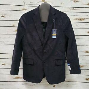 NEW Stafford Classic Fit 42 R Mens Sport Coat Corduroy Comfort Stretch Black