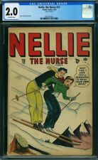 Nellie the Nurse (1948 Marvel/Timely) #12 CGC 2.0 Off White Pages