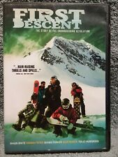 First Descent DVD 2005 (a6) Snowboarding Alaskan Journey Shaun White Nick Farmer