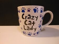 Crazy Cat Lady Coffee Mug And Proud of It Animal Rescue 14 Oz