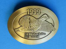 BOBWHITE QUAIL Belt Buckle - NEW RARE 1999 Kansas State Wildlife Parks Hunting