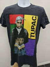 Official Tupac Shakur  2Pac, 90's style block T-shirt, Small.