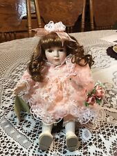 """Musical Plays """"Thank Heaven For Little Girls� doll w/movement 6� sitting"""