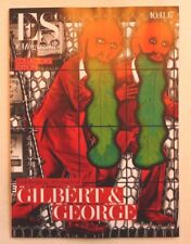 GILBERT AND GEORGE ES MAGAZINE November 2017 Collectors edition with artists