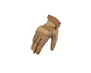 Large Condor HK220 Made With Kevlar Knuckle Leather Shooting Gloves Tan