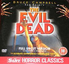 Sam Raime's The Evil Dead (DVD), Bruce Campbell, Sarah York, Hal Delrich