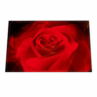 Red Rose Bath Mat non-Slip Bathroom Door Shower Toilet Rug Carpet Washable
