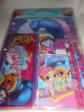 New Shimmer and Shine 10-piece stationery set school supplies nickelodeon girls