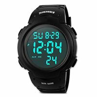 Mens Digital Sports Watch, Males Waterproof Electronic Military Army Watches Coo