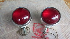 HONDA CB450 P CL450 P CB750 P CB750 POLICE PATROL LAMP LIGHT PAIR GENUINE NOS JP