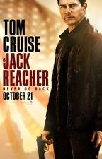 JACK REACHER NEVER GO BACK MOVIE POSTER 2 Sided ORIGINAL Ver B 27x40 TOM CRUISE