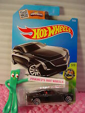 Case D/E 2016 i Hot Wheels CADILLAC ELMIRAJ #75✰Black/Burgundy 10sp✰HW Exotics