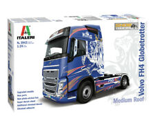 Italeri 3942 1/24 Scale Model Truck Kit Volvo Fh4 Globetrotter Medium Roof