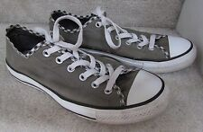 Converse Women's CT Ox Double Tongue Athletic Shoe 527863F - Gray Sz 9