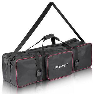 "Neewer 35""x10""x10"" Photo Studio Tripod Stand Lighting Kit Large Carrying Bag"
