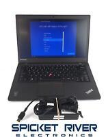 "Lenovo ThinkPad T440S 14"" i5-4300U 1.90GHz 320GB HDD 4GB RAM Win10Pro #56586"