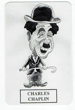 2006 Spanish Pocket Calendar Silent Movie Star Charlie Chaplin Caricature