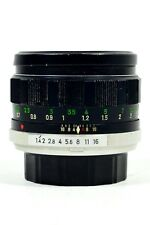 Minolta 58mm f/1.4 MC Rokkor-PF Manual Focus Lens