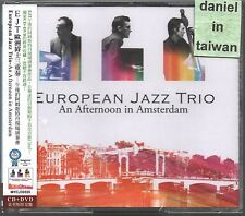 European Jazz Trio: An afternoon in Amsterdam (2010) CD & DVD OBI TAIWAN