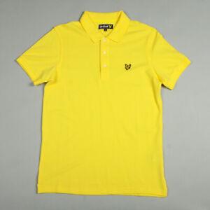 Lyle & Scott Vintage Plain Pique Polo SP100CL - Jonquil Yellow