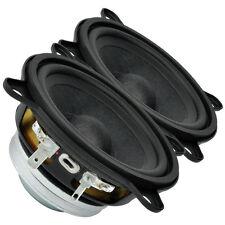 """Pair Faital PRO 3FE22 3"""" NEO Full Range Line Array Woofer Speaker s 8 ohm 91dB"""