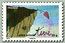 2011-TIMBRE NEUF**ADHESIF//FALAISE,FEUILLE EN SURPLOMB//AUTOCOLLANT.Y/T. N°527a