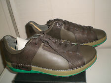 TSUBO OAXACA MENS LEATHER LACE UP SHOES BROWN NEW SIZE 12
