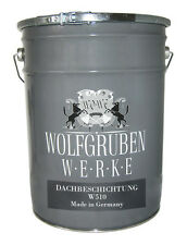 Wolfgruben Werke W510 Dachfarbe - 24kg, Anthrazitgrau