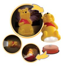 DISNEY WINNIE THE POOH TORCH AND NIGHT LIGHT BEDSIDE BUDDY NOVELTY KIDS CHILDREN