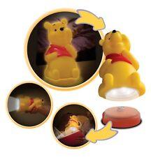 Disney Winnie l'ourson torche lumière nuit chevet Buddy Nouveauté Enfants
